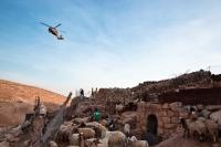 Daily reality inside firing zone 918. Maghayir al 'Abeed, January 2010. Photo: Eduardo Soteras